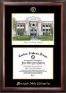 Morehead State Eagles Gold Embossed Diploma Frame with Lithograph