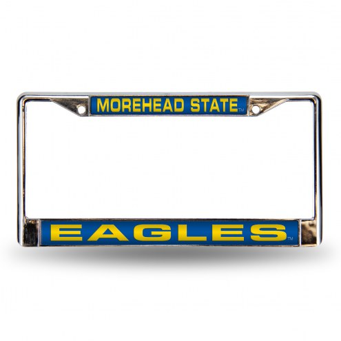 Morehead State Eagles Laser Chrome License Plate Frame