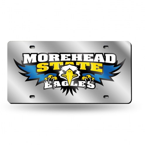 Morehead State Eagles Laser Cut License Plate
