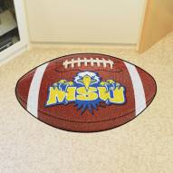 Morehead State Eagles Logo Football Floor Mat