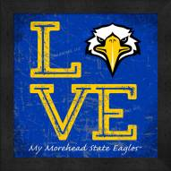 Morehead State Eagles Love My Team Color Wall Decor