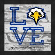 Morehead State Eagles Love My Team Square Wall Decor