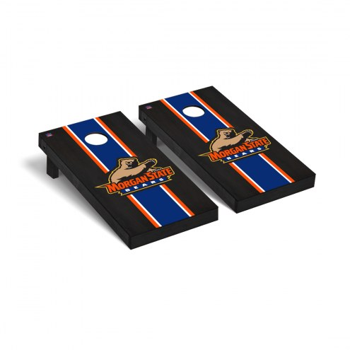 Morgan State Bears Onyx Stained Cornhole Game Set