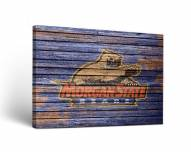 Morgan State Bears Weathered Canvas Wall Art