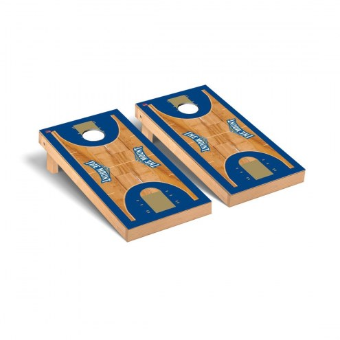 Mount St. Mary's Mountaineers Basketball Court Cornhole Game Set