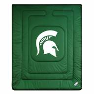 Michigan State Spartans NCAA Full/Queen Jersey Comforter
