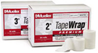 "Case of Mueller 1"" Tapewrap Premium - 48 Rolls"