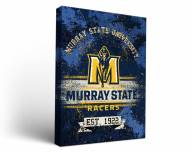 Murray State Racers Banner Canvas Wall Art