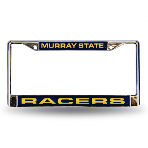Murray State Racers Laser Chrome License Plate Frame