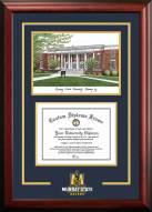 Murray State Racers Spirit Graduate Diploma Frame
