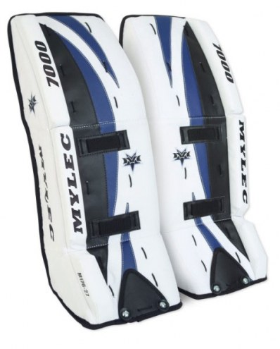 Mylec 7000 Series Ultra Lite Goalie Leg Pads - 27  Inch