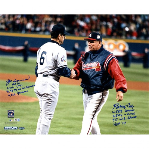 "Bobby Cox/Joe Torre Signed 16"" x 20"" Photo"