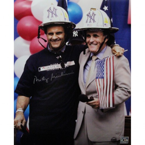 "Guiliani/Torre Signed 16"" x 20"" Photo"