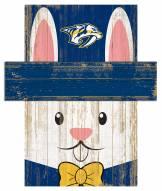 "Nashville Predators 19"" x 16"" Easter Bunny Head"