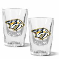 Nashville Predators 2 oz. Prism Shot Glass Set