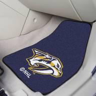 Nashville Predators 2-Piece Carpet Car Mats