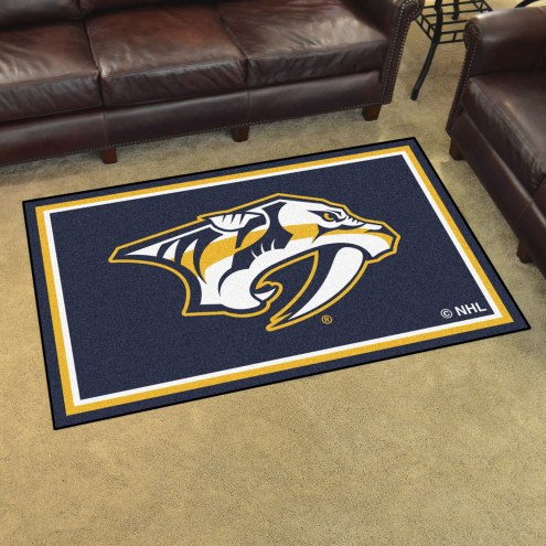 Nashville Predators 4' x 6' Area Rug