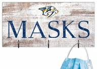 """Nashville Predators 6"""" x 12"""" Mask Holder"""