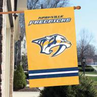 Nashville Predators Applique Banner Flag
