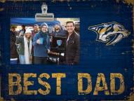 Nashville Predators Best Dad Clip Frame