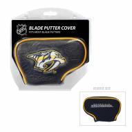 Nashville Predators Blade Putter Headcover