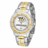 Nashville Predators Competitor Two-Tone Men's Watch