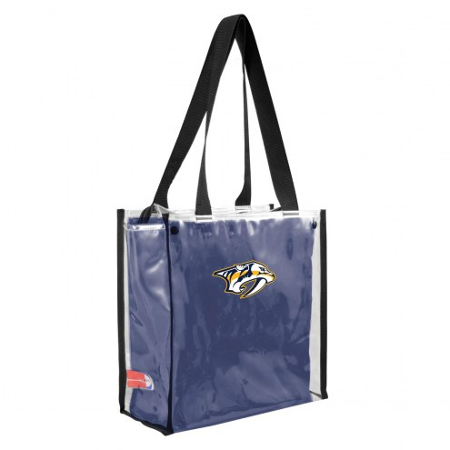 Nashville Predators Convertible Clear Tote
