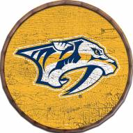 "Nashville Predators Cracked Color 24"" Barrel Top"