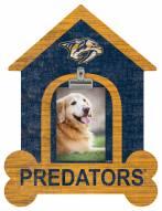 Nashville Predators Dog Bone House Clip Frame