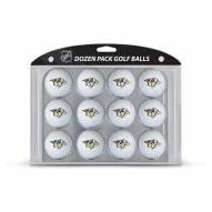 Nashville Predators Dozen Golf Balls