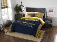 Nashville Predators Draft Full/Queen Comforter Set