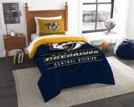 Nashville Predators Draft Twin Comforter Set