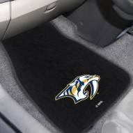 Nashville Predators Embroidered Car Mats