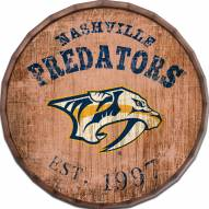 """Nashville Predators Established Date 16"""" Barrel Top"""