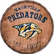 """Nashville Predators Established Date 24"""" Barrel Top"""