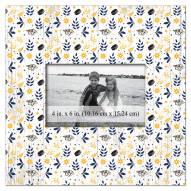 "Nashville Predators Floral Pattern 10"" x 10"" Picture Frame"