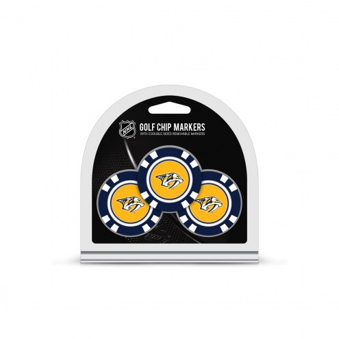 Nashville Predators Golf Chip Ball Markers