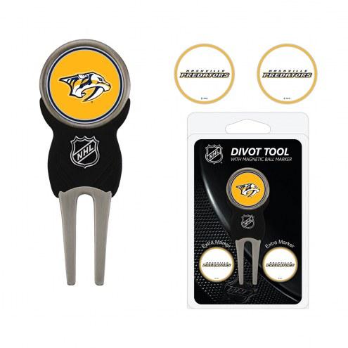 Nashville Predators Golf Divot Tool Pack