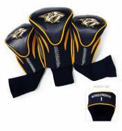 Nashville Predators Golf Headcovers - 3 Pack