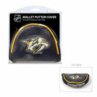 Nashville Predators Golf Mallet Putter Cover