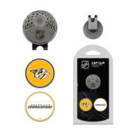 Nashville Predators Hat Clip & Marker Set