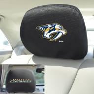 Nashville Predators Headrest Covers