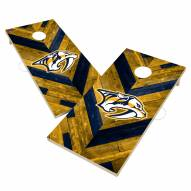 Nashville Predators Herringbone Cornhole Game Set