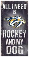 Nashville Predators Hockey & My Dog Sign