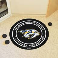Nashville Predators Hockey Puck Mat