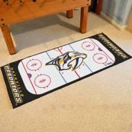 Nashville Predators Hockey Rink Runner Mat