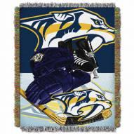 Nashville Predators Home Ice Advantage Throw Blanket