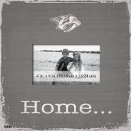 Nashville Predators Home Picture Frame