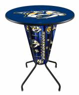 Nashville Predators Indoor Lighted Pub Table