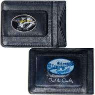 Nashville Predators Leather Cash & Cardholder